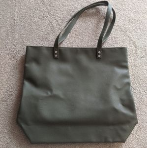 Thirty-One Olive Leather Bag